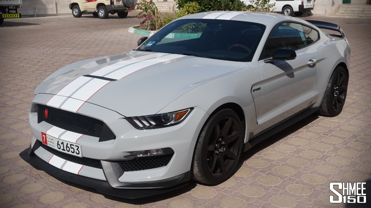Shelby mustang gt350r is an angry brute youtube