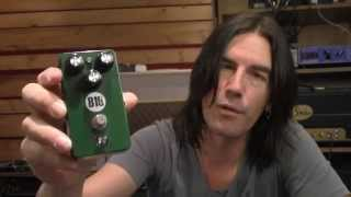 Tone Blue Pedal Diggers 819 Overdrive, demo by Pete Thorn