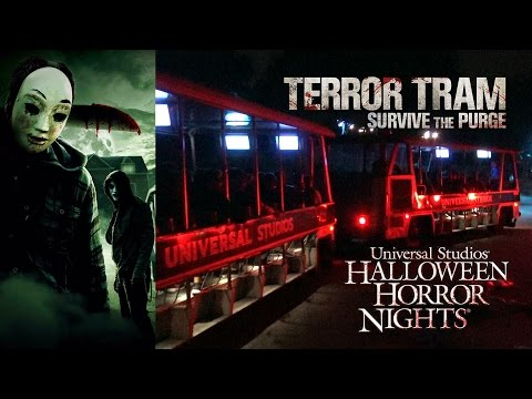 Survive the purge haunted house walkthrough halloween horror nights