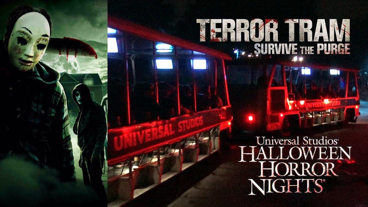 halloween tram of terror