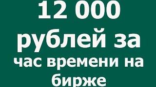 Отзывы Московская биржа! Акции! Гайдар Юсупов и Команда! 18% за день!