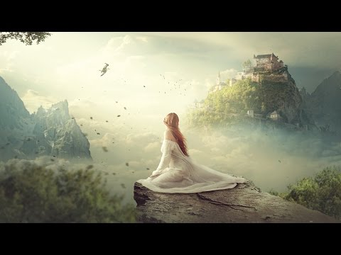 Clouds Kingdom - Photoshop Manipulation Tutorial Compositing Process