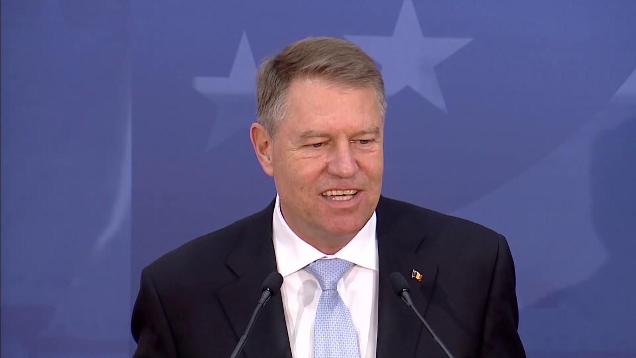 """#EURO19: Forumul """"Future of Europe"""" de la Sibiu - declarații Klaus Iohannis"""