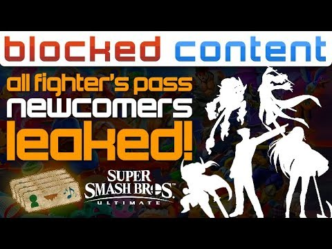 Someone LEAKED All Fighter's Pass NEWCOMERS, Some WEIRD Choices! Smash Ultimate LEAK SPEAK!