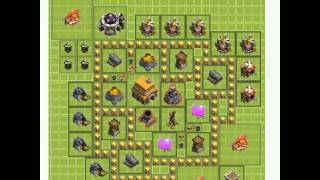 Piores Layouts do Clash of Clans