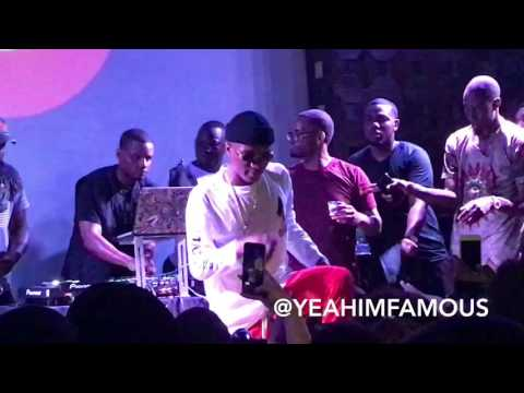"""WizKid Live in NYC at SOBs """" Sounds From The Other Side """" Pop Up Concert"""