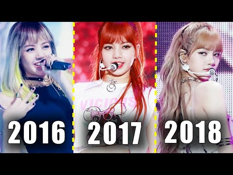 LISA BLACKPINK HAIRSTYLE EVOLUTION 2016-2017