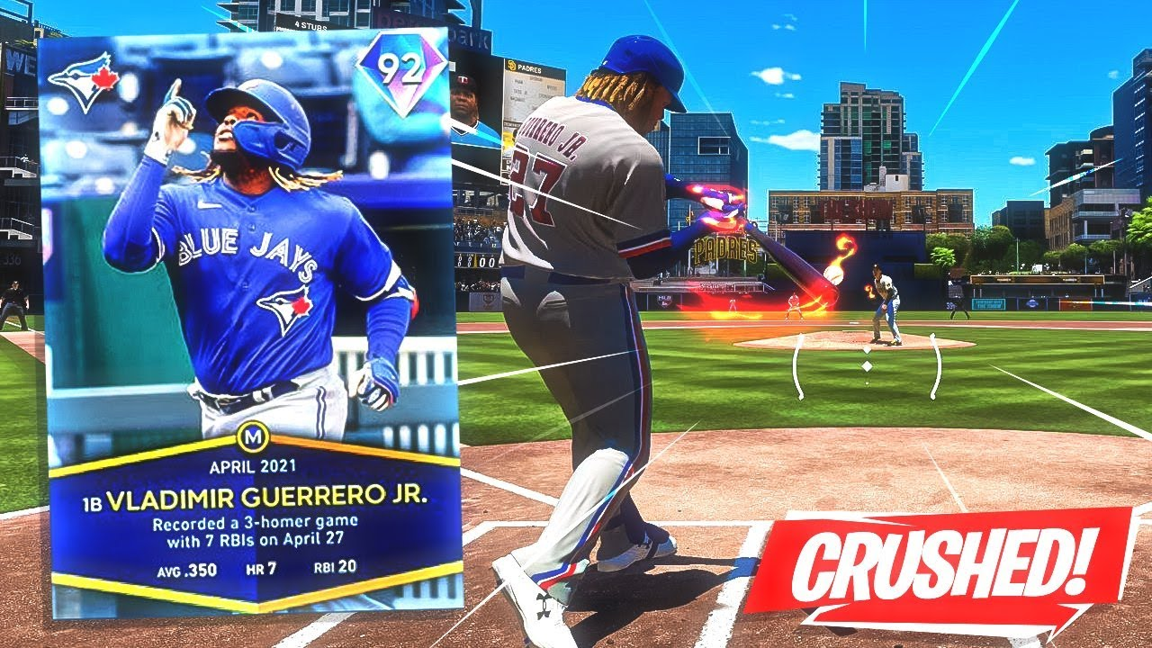 Download VLADIMIR GUERRERO JR IS UNSTOPPABLE! *OMG* MLB The Show 21 NEXT GEN Gameplay