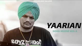 Yarrian (Sidhu Moose Wala) Mp3 Song Download