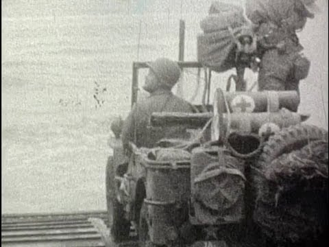 8mm home movie of DDay invasion and beyond by American soldier