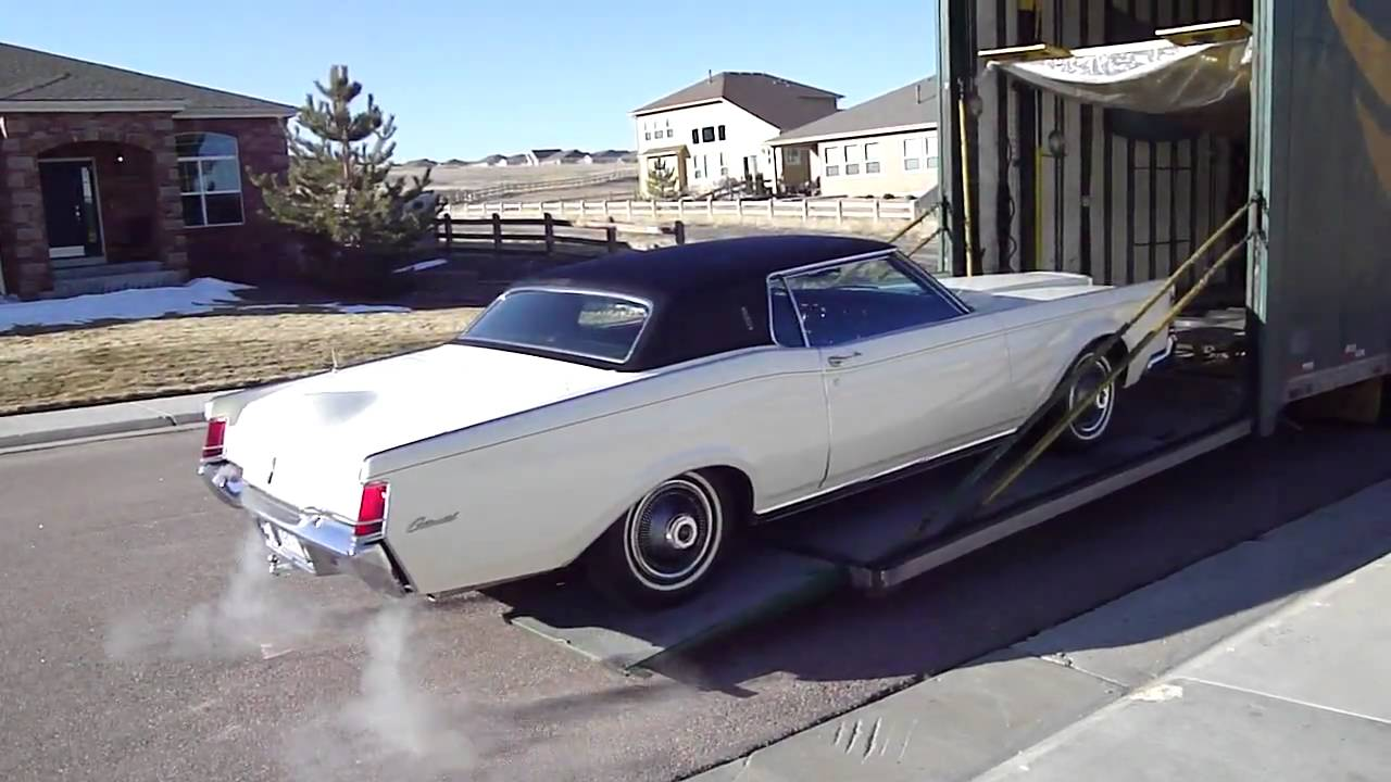 1969 Lincoln Continental Mark III Transport - YouTube