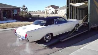 1969 Lincoln Continental Mark III Transport