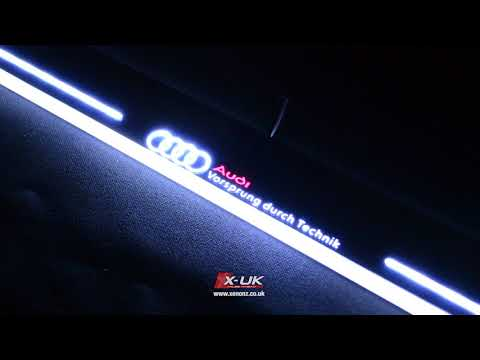 Moving Door Scarf Audi Door Stab Led Scuff A4 A5 A6 Ge