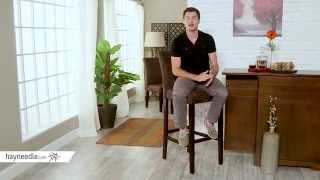 Palazzo Extra Tall Barstool - Chocolate - Set Of 2 - Product Review Video