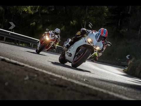 DUCATI 959 PANIGALE vs HONDA FIREBLADE SP | InterviewsRoad Tests | Motorcyclenews.com