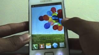 Launcher con apariencia de un s4 en Samsung galaxy Ace (personalizacion extrema)