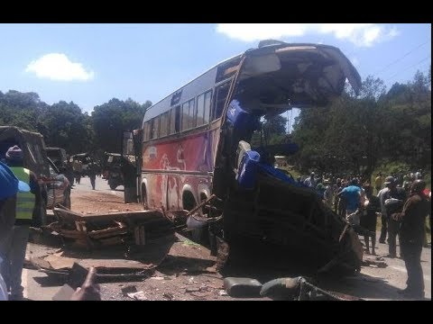 President Uhuru angered by the state of road carnage on Kenyan Highways