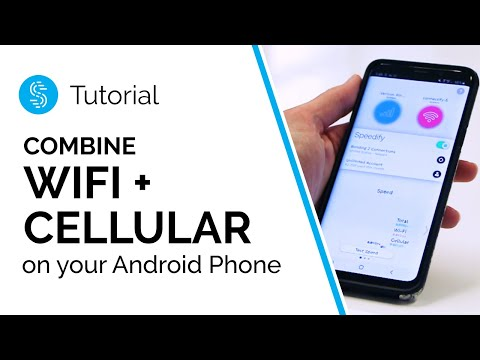 How to Use WiFi and Mobile Data at the Same Time Without Root - Speedify