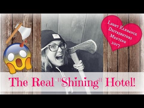 "Vlog | THE REAL ""SHINING"" HOTEL!!"