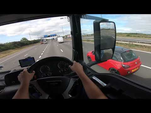 Proud To Be A HGV CLASS 2 Lorry Driver In UK / Category C Lorry Driver