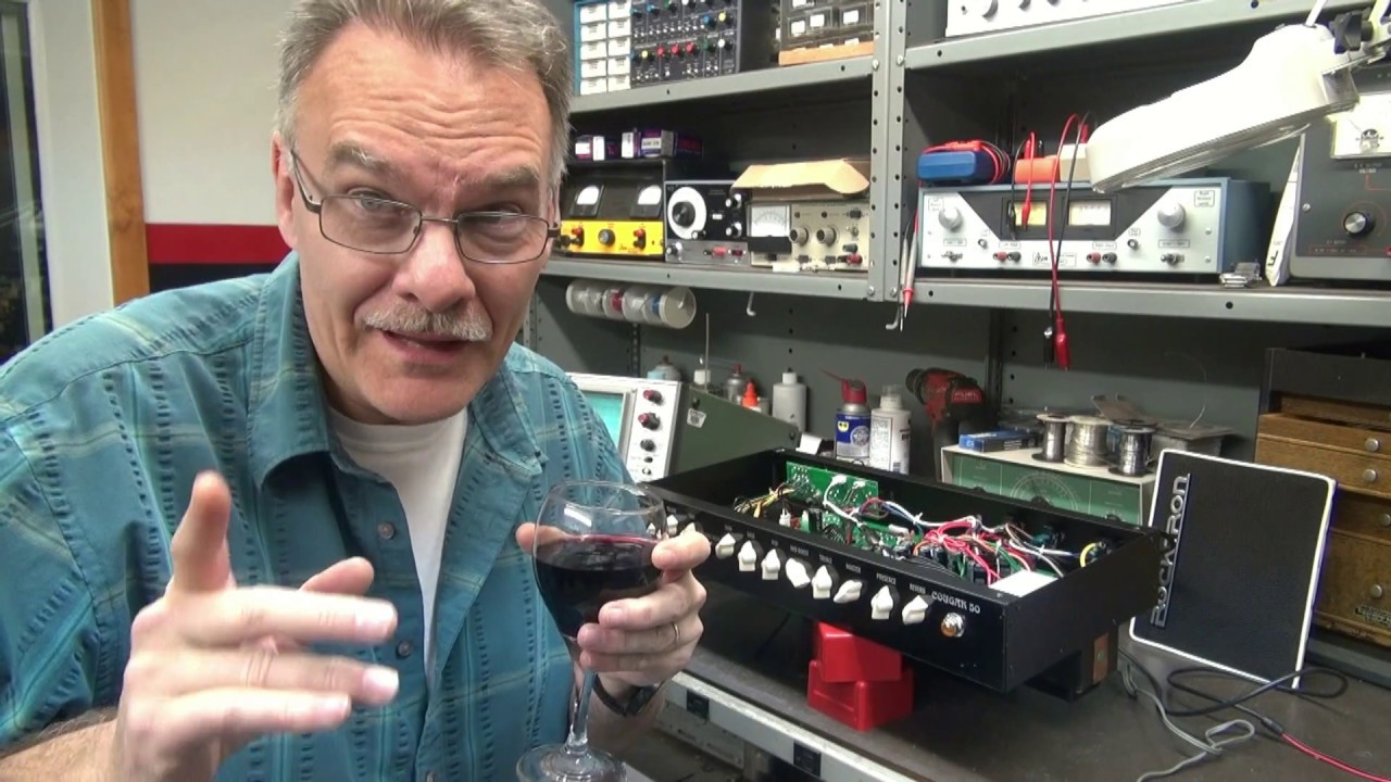 How to repair Bad Cat Cougar 50 tube guitar amp by D-lab Electronics