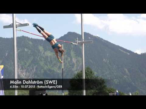 Malin Dahlström (SWE) - 4.55m - 10.07.2015 - Rottach-Egern/GER
