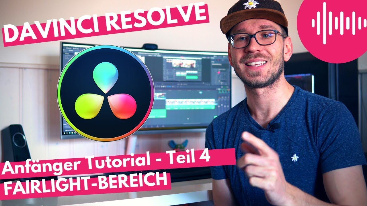 davinci resolve deutsch einstellen