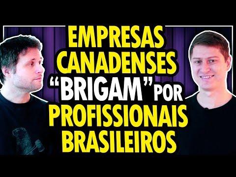 EMPRESAS CANADENSES DISPUTANDO PROFISSIONAIS BRASILEIROS DE TECNOLOGIA