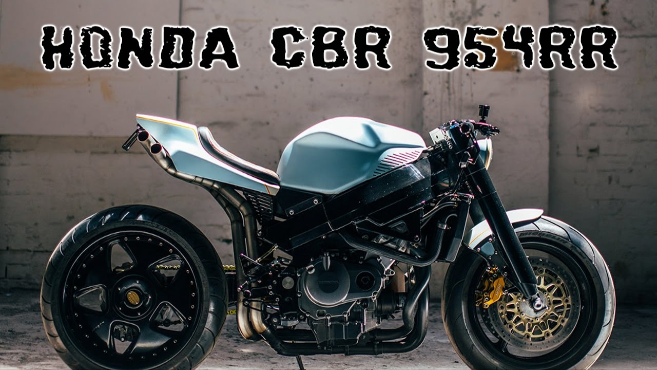 Honda Cbr 954 Rr Custom Retro Fighter Youtube