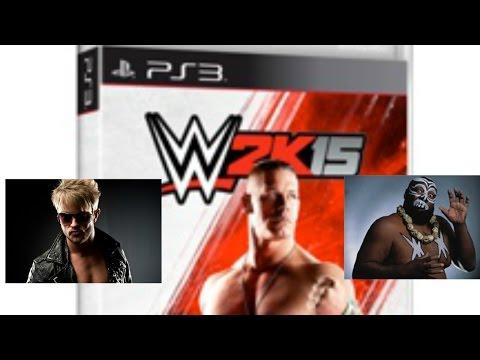 WWE 2K15 Rockstar Spud vs Kamala
