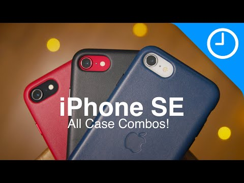 Hands-on: all official iPhone SE 2 case color combinations (18 possibilities)