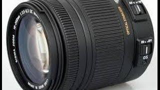 SIGMA DC Nikon 18-250mm MACRO HSM LENS REVIEW