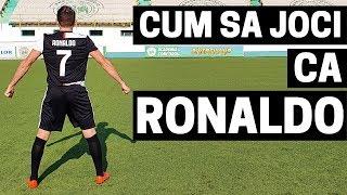 CUM SA JOCI CA RONALDO | CUM SA DRIBLEZI CA RONALDO | IMPROVED FOOTBALL | CR7