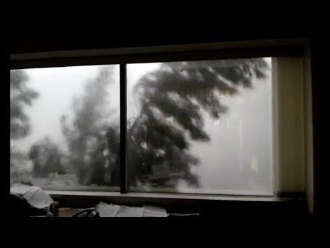 Severe Storms Hit Near Syracuse, New York