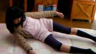 駆け足・麻痺側の起き上がり・自転車・脳梗塞 片麻痺 リハビリ動画