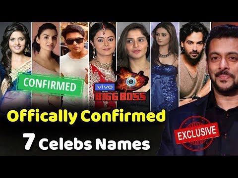 Bigg Boss 13 Officially 7 Confirmed Contestants For Salman Khan S Show Bigg Boss 13