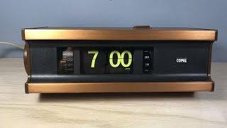 Copal 705L Black Light Digital Alarm Clock  Flip Clock
