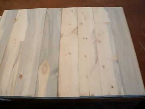 rocky mountain blue pine whole flooring  side A