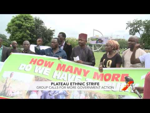 """""""Plateau Speaks"""" Group Demands Nigerian Government Action on Ethnic Strife"""