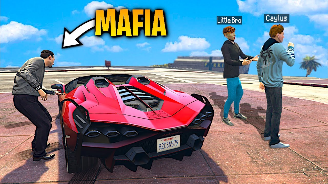 Mafia STEALS My RARE SUPERCAR In GTA 5 RP..