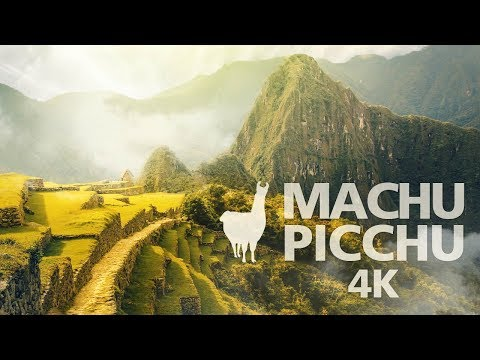 MACHU PICCHU PERÚ - PATRIMONIO DE LA HUMANIDAD (4K)