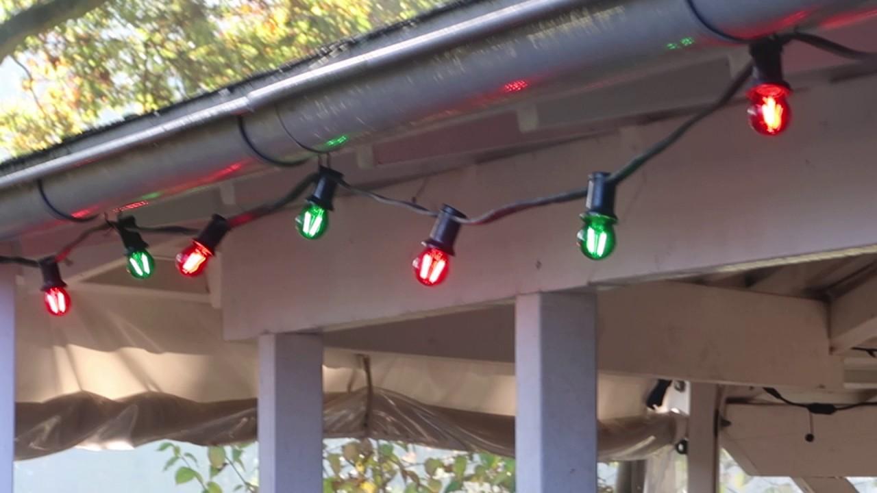 Led Feestverlichting Kerstverlichting Rood Groen Buiten 10 Meter