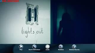 Lights Out (2016) Blu-ray™ Disc Menu   Menu Walkthrough