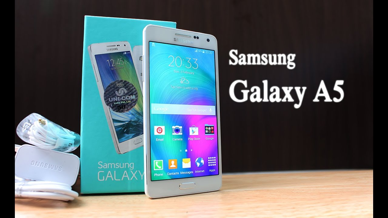 samsung galaxy a5 unboxing quick review youtube. Black Bedroom Furniture Sets. Home Design Ideas