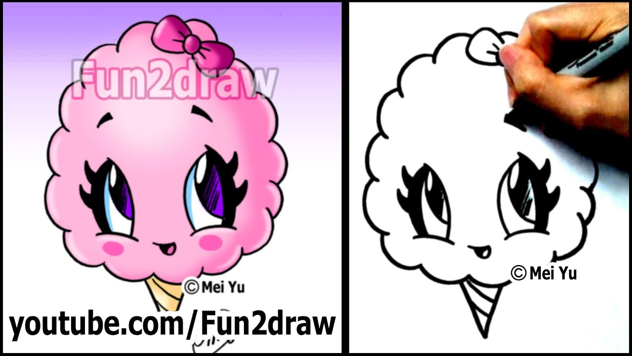 Gallery For gt Cute Cotton Candy Cartoon