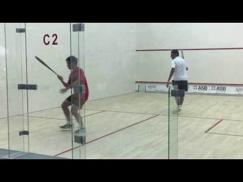 DAY 4- BOYS U17 Timothy Ling (MAS) vs Vasudef Vasanthan (MAS)