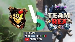 🔴 507 eSports vs Team Rex - Liga Latina Royale - Liga Competitiva - Clash Royale