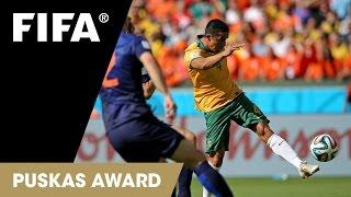 Tim Cahill Goal: FIFA Puskas Award 2014 Nominee thumbnail