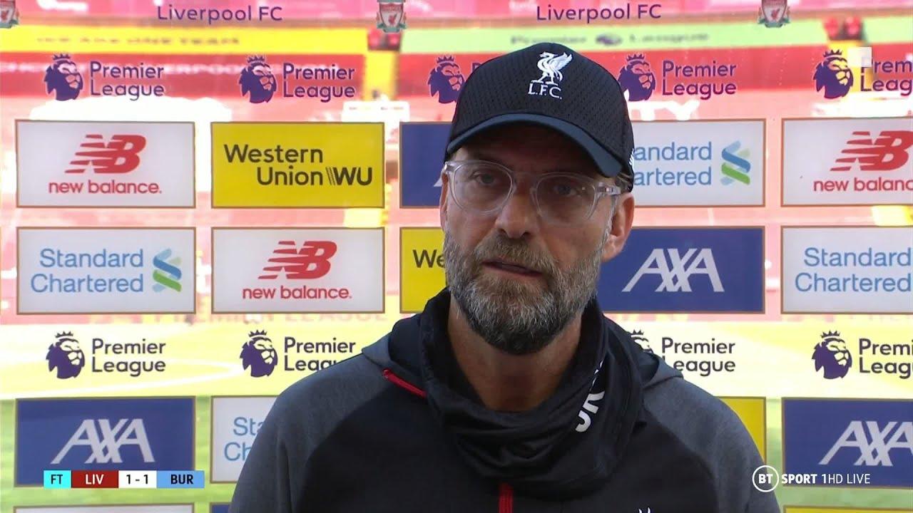 "Nick Pope made sensational saves"" Jurgen Klopp reacts to Liverpool ..."