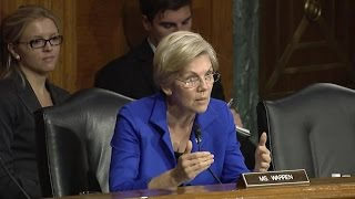 Elizabeth Warren Destroys Janet Yellen Over JPMorgan
